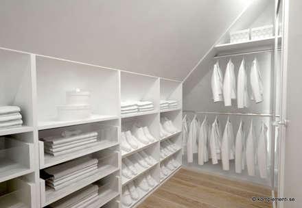 Closets de estilo escandinavo por Komplementi