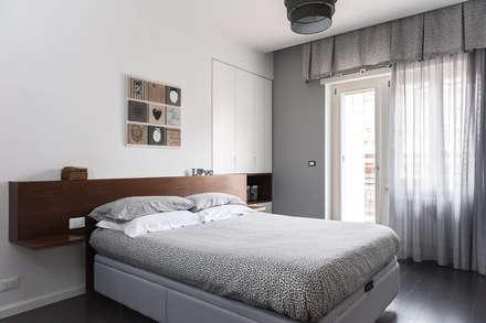 NEAR Architecture Casa IPA: Camera da letto in stile in stile Minimalista di Paolo Fusco Photo