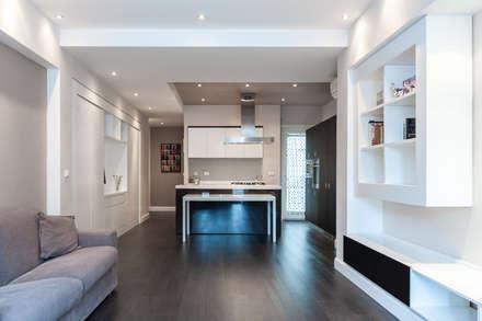 NEAR Architecture Casa IPA: Soggiorno in stile in stile Minimalista di Paolo Fusco Photo