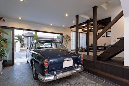 modern Garage/shed by MOTHERS'HOME 建築士事務所