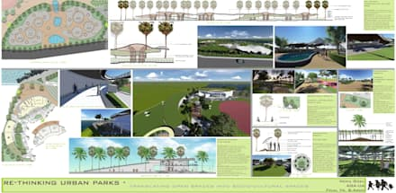 Re-Thinking Urban Parks:  Event venues by Neha Goel Architects