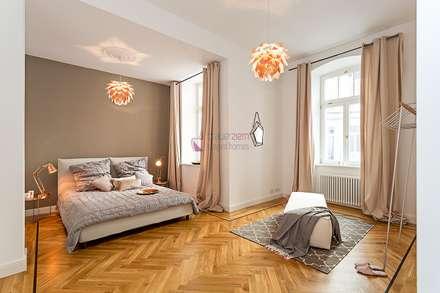 6 Zimmer Musterwohnung Im Gründerzeit Altbau Am Kurfürstendamm: Moderne  Schlafzimmer Von Staged Homes