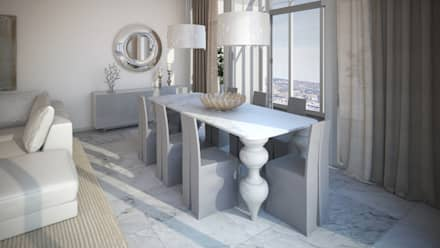 Diseño de Comedor: Comedores de estilo moderno por Gabriela Afonso