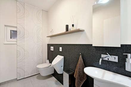 moderne badezimmer ideen bilder homify. Black Bedroom Furniture Sets. Home Design Ideas