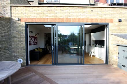 Ashurst Road:  Windows  by IQ Glass UK