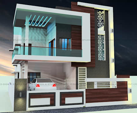 Interior design of a modern house
