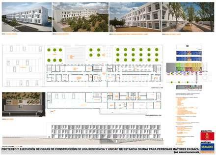 PANEL 1 CONCURSO: Hospitales de estilo  de AMARQUITECTURA