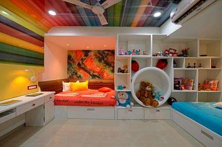 modern Nursery/kid's room by AIS Designs