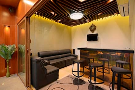 Gimnasios domésticos de estilo  por AIS Designs