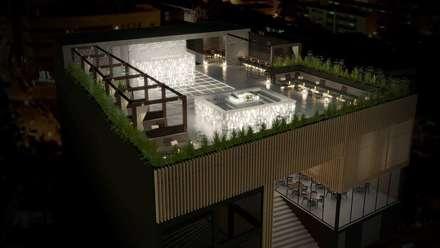 Restaurante Japão: Bares e clubes  por DRCF Arquitectos