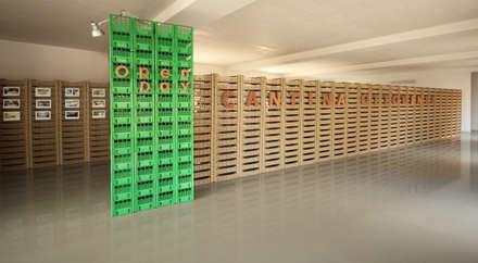Plastic Box: Allestimenti fieristici in stile  di Ad'A