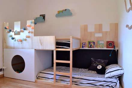 modern Nursery/kid's room by mommo design