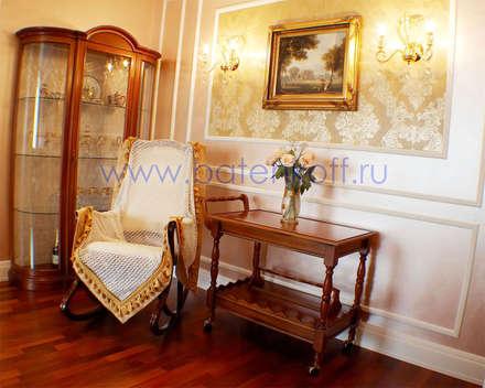 Кресло в классическом интерьере : Винные погребы в . Автор – Дизайн студия 'Дизайнер интерьера № 1'