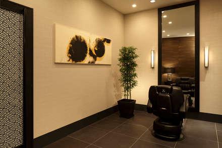 バーバー : 澤山乃莉子 DESIGN & ASSOCIATES LTD.が手掛けたホテルです。