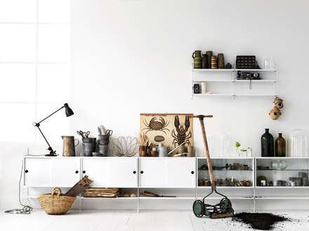 Centros de exhibiciones de estilo  por trouvé