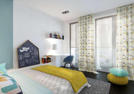 Hamoir: Chambre d'enfant de style de style Moderne par ZR-architects