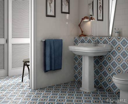 country Bathroom by Equipe Ceramicas