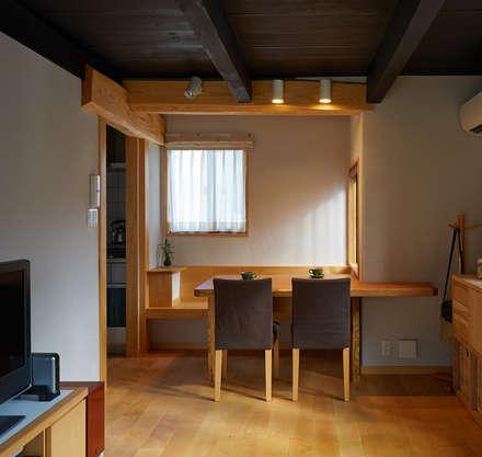 竹内建築設計事務所의  다이닝 룸