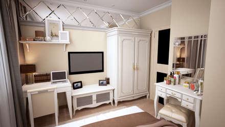Дизайн-проект квартиры в г. Москве: Спальни в . Автор – SmaginVladimir