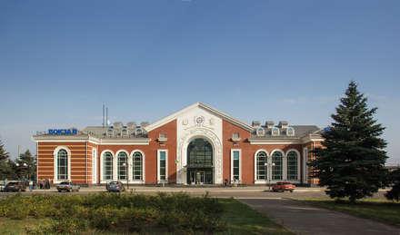 main facade:  Airports by VALENTIROV&PARTNERS