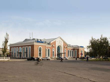 Kramatorsk station redevelopment:  Airports by VALENTIROV&PARTNERS