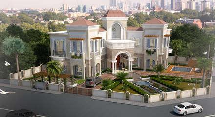 Villa At Dubai: classic Houses by SDA designs