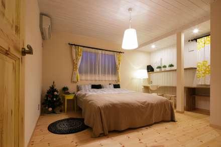 H's HOUSE: dwarfが手掛けた寝室です。