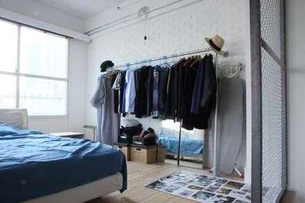 90平米のワンルーム: HOUSETRAD CO.,LTDが手掛けた寝室です。