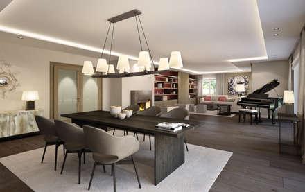 Wohnung Am Tegernsee: Klassische Wohnzimmer Von Winhard 3D