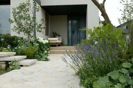 竜ヶ崎の家: (有)ハートランドが手掛けた庭です。