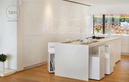 A perfeição é o limite: Cozinhas minimalistas por FABRI