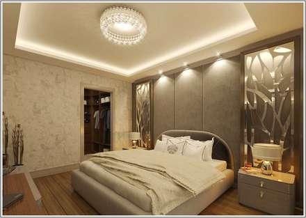 CCT INVESTMENTS – CCT 101 Project in Beylikduzu: modern tarz Yatak Odası