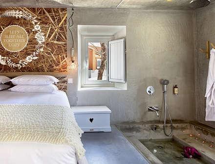 Luz Charming Houses _ Boutique Hotel: Quartos campestres por SegmentoPonto4