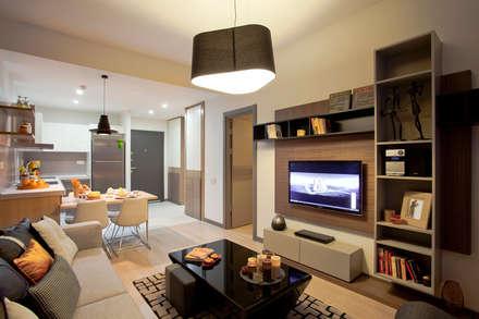 CCT INVESTMENTS – CCT 107 Project in Esenyurt: modern tarz Oturma Odası