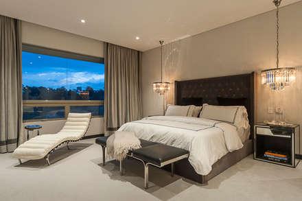 ห้องนอน by HO arquitectura de interiores