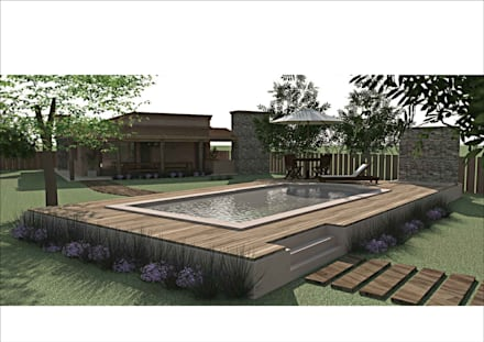 country Pool by Ronda Estudio