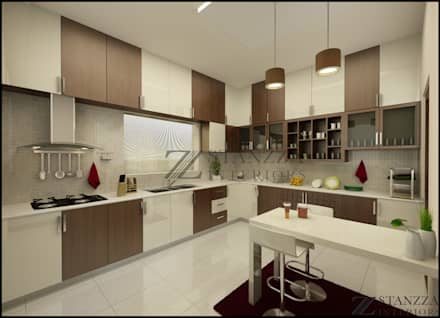 nizar manilala modern kitchen by stanzza - Modern Kitchen
