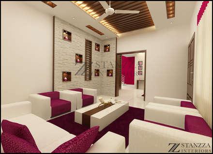 Nizar, Manilala: modern Living room by stanzza