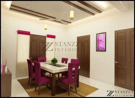 Nizar, Manilala: modern Dining room by stanzza