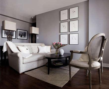 Appartement, 2012: Salon de style de style Classique par ANNA DUVAL