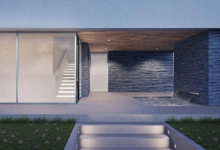 الممر والمدخل تنفيذ ASVS Arquitectos Associados
