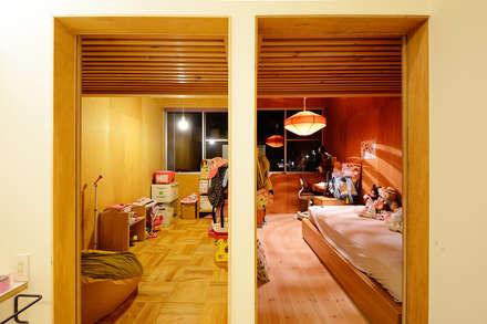 HOUSE  S: アーキライン一級建築士事務所が手掛けた子供部屋です。