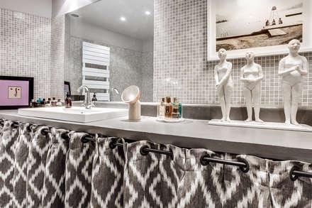 plan de travail salle de bain: Salle de bain de style de style eclectique par cristina velani