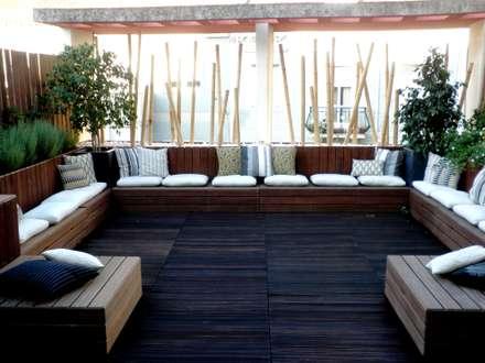 Chill Out Urbano: Terraços  por Calleres - Architecture & Interior Design