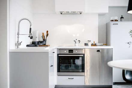 Esszimmer skandinavischer stil grau  Skandinavische Küchen Ideen, Design und Bilder | homify