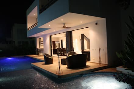 Casa Salazar: Casas de estilo moderno por Camilo Pulido Arquitectos
