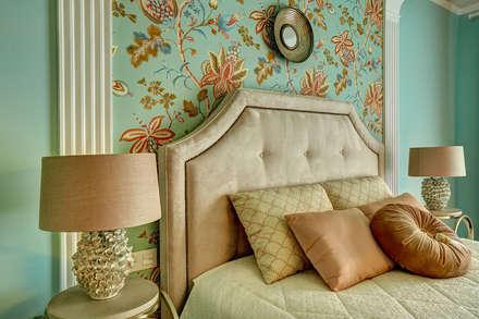 спальня хозяйки/2этаж: Спальни в . Автор - Yucubedesign