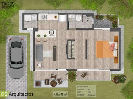منازل تنفيذ CS Arquitectos