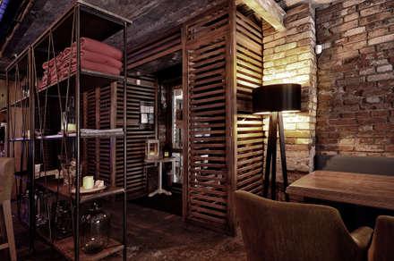 industrial Dressing room by ALLARTSDESIGN