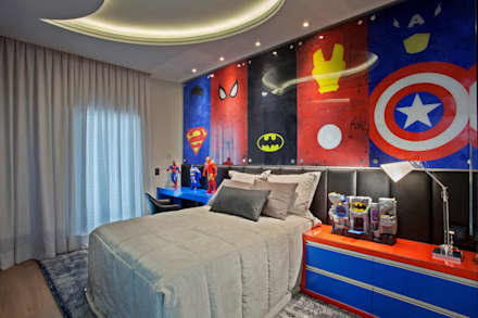 modern Nursery/kid's room by Arquiteto Aquiles Nícolas Kílaris